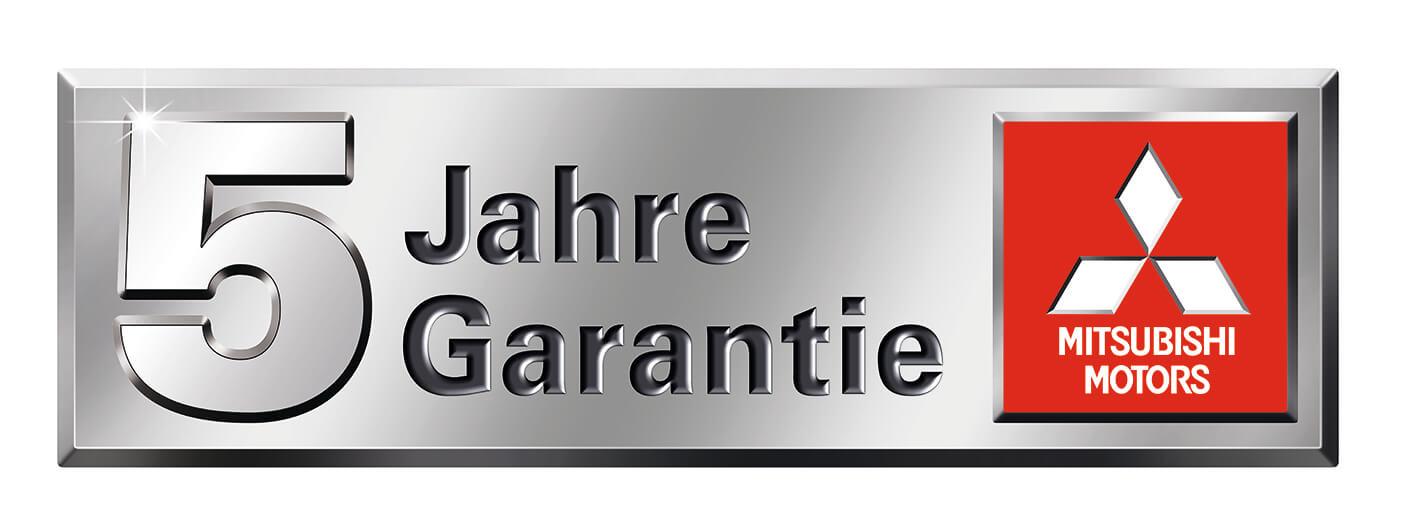 5 Jahre Garantie Mitsubishi Motors Schweiz Sportgarage Kuratli AG Altstätten